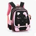 Children backpacks waterproof girl orthopedic school bag cartoon Kids School Bags Printing Backpacks Bow Book Bag Nylon Mochilas