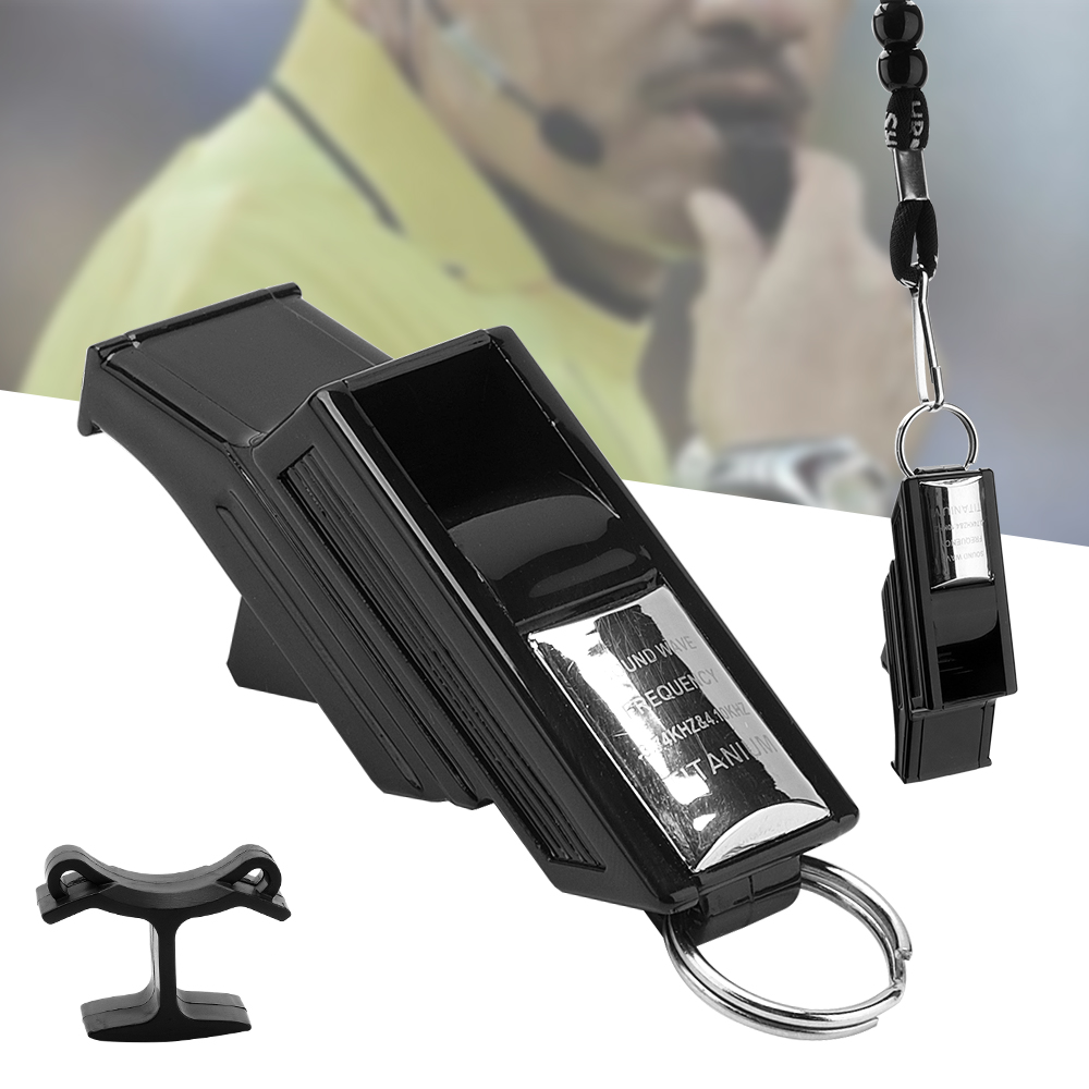 Sports & Entertainment Boruit Professional Football Referee Whistle Basketball Volleyball Whistle Sports Teacher Sost Silver Comfortable And Easy To Wear Whistle