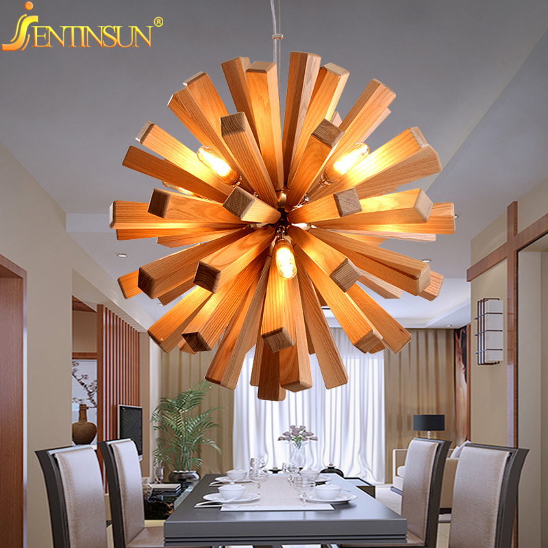 Creative Lamp online buy wholesale wooden creative lamp from china wooden