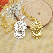 LPHZQH trendy cute dog Boho Chic Lagotto Romagnolo necklace Women choker pendant necklace charm collar Jewelry Christmas gift
