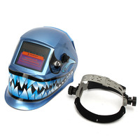New PP Pro WELDING/Grinding Helmet Auto Darkening Mig Tig Arc Mask Blue Dink Ultra Light Designing Sensitivity Control
