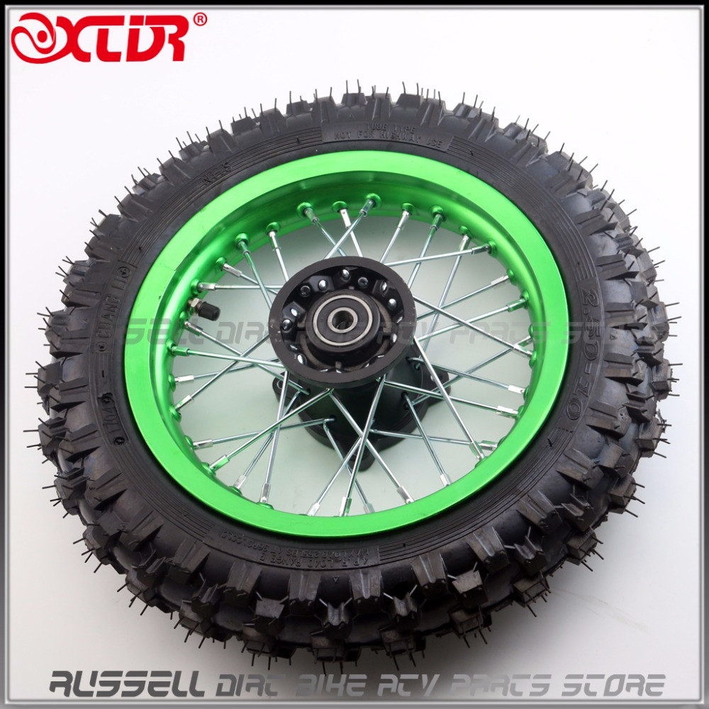 "Front Wheel Tire 10"" 2.50 10 & Rim Tyre Crf50 Crf 50"