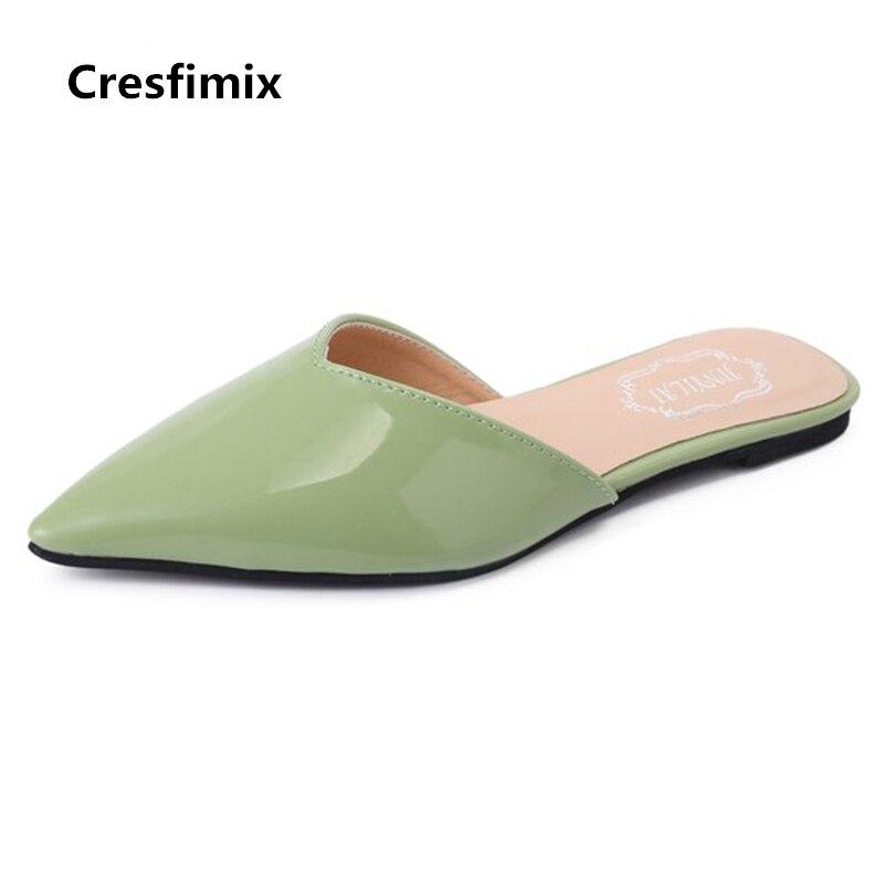 Cresfimix sandales pour femmes women fashion black pu leather flat sandal shoes lady cute slip on sandals comfy sandals a874 cresfimix sandales pour femmes women sexy party high heel sandals lady cute spring