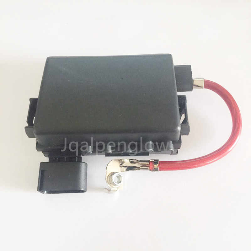 Car Battery Fuse Box For VW Beetle Jetta MK4 Golf MK4 Bora 4 Seat Leon on