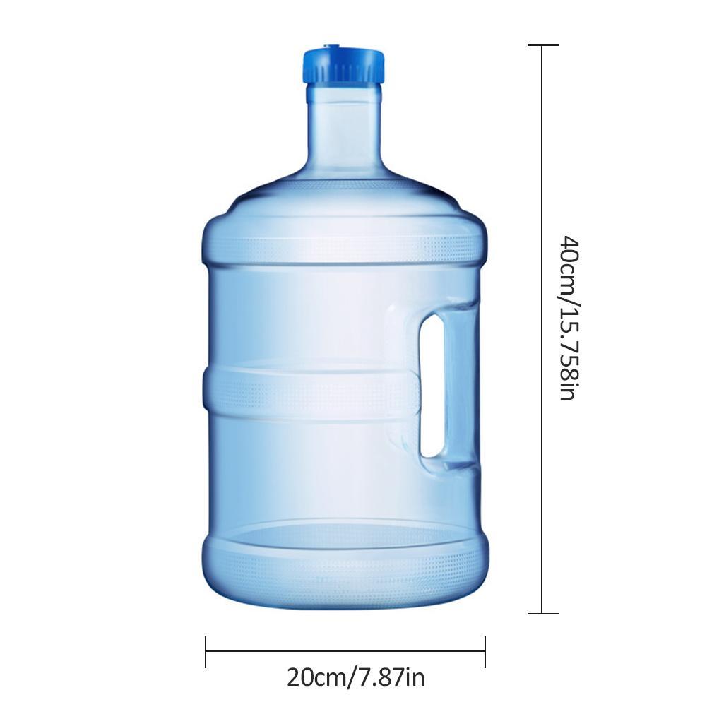 VORCOOL Cubo de 5/l de Agua Pura Botella Agua Mineral Portable con Mango
