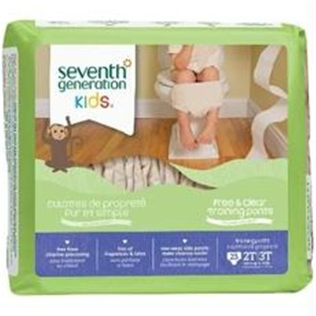 Seventh Generation B07104 Seventh Generation Baby Free And Clear Training Pants 2t-3t 25 Training Pants -4x25ct seventh generation nat paper towels 120 cnt 120 count