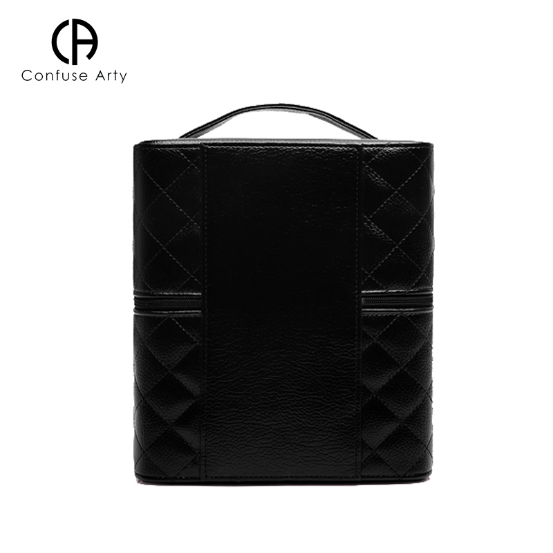 Image 4 - Makeup Bag High Quality Lovely Cosmetic Box Women casual Folding Layers Professional Travel Storage Case Large Capacity Suitcasemakeup bagtravel storage caselovely cosmetics -