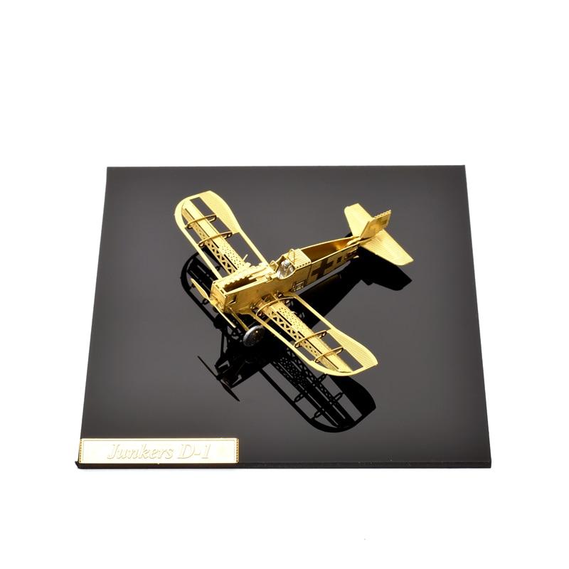 1/160 Skala Junkers D-1 DIY Metalna 3d slagalica sastavljena model - Igre i zagonetke - Foto 6