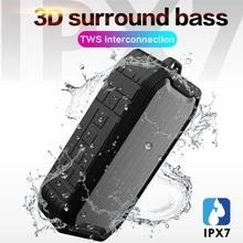 Bluetooth speaker Portable Wireless Loudspeakers Outdoor Sports Waterproof Speakers For Phone Computer Music for drop