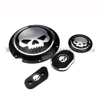 CNC Deep Cut Motorcycle Derby Timing Timer Covers For Harley Sportster XL 883 1200 2004 2005