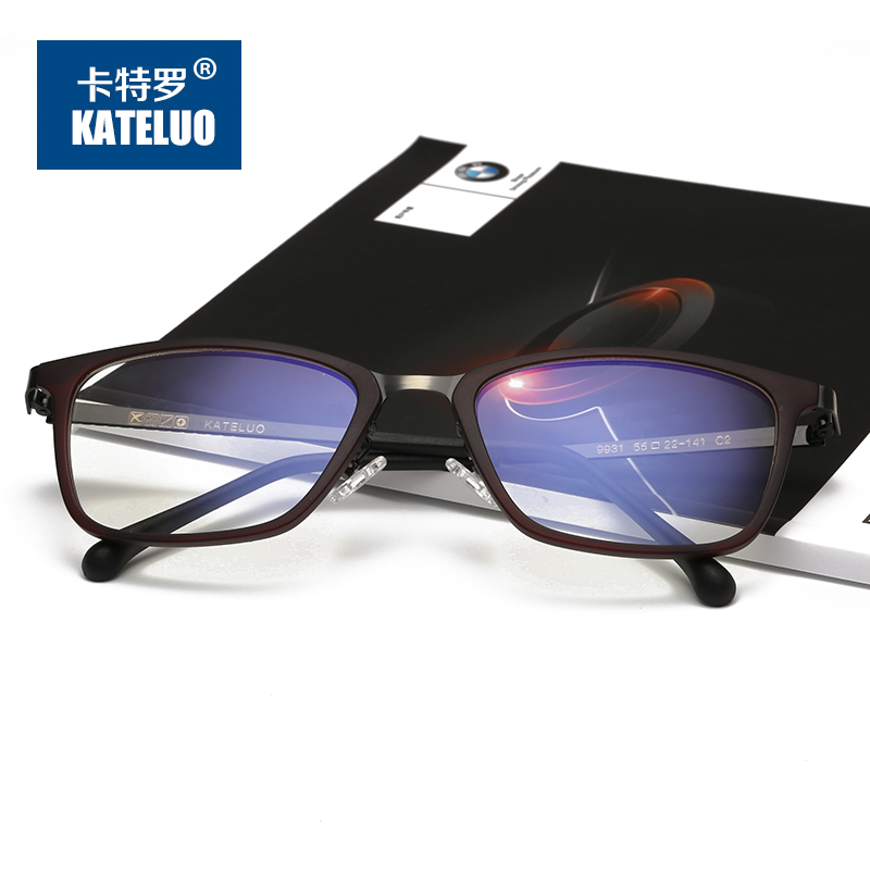 4fda8a3962 KATELUO Computer Goggles Anti Blue Laser Ray Fatigue Radiation resistant  Glasses Eyeglasses Frame Eyewear 9931-in Eyewear Frames from Apparel  Accessories on ...