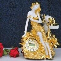 Специальное предложение Французский модный салон красоты серия трехмерной резные античный телефон телефон телефон