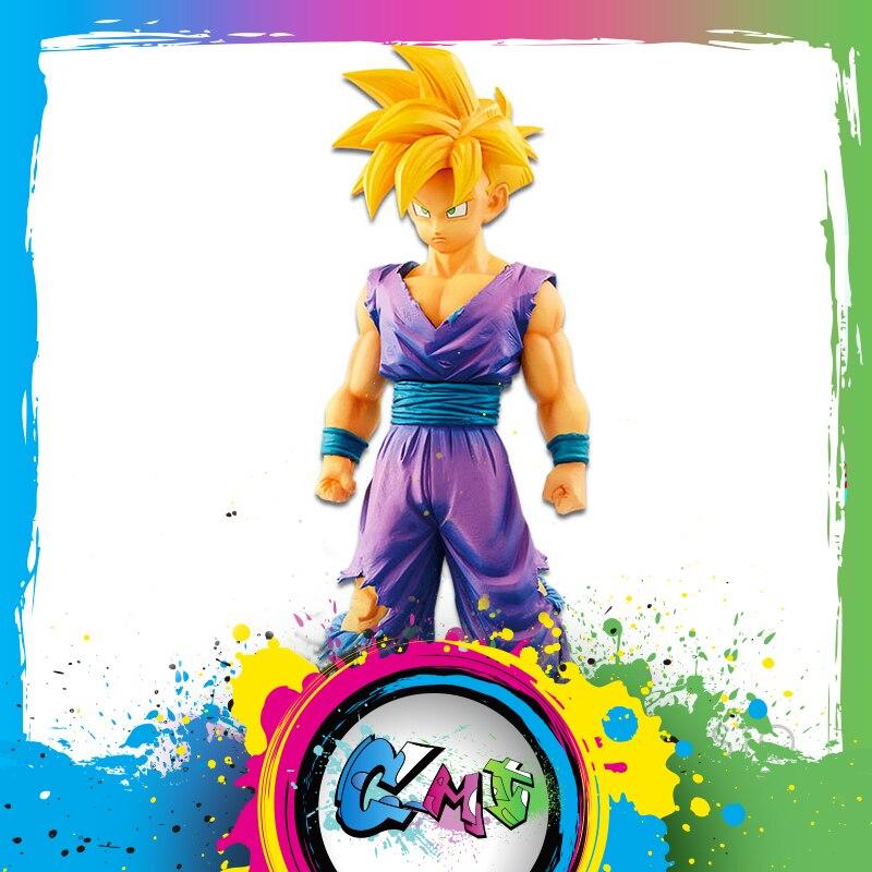 CMT En Stock Origianl Banpresto Dragon Ball Z DBZ Grandista Résolution De Soldats Saiyans SS Fils Gohan Anime PVC Jouets figure