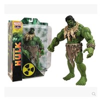 Free shipping HOT SALE MAVEL Select AMERICAN HERO The Avengers The barbarians type NEW Hulk Action Figures Toy HK002
