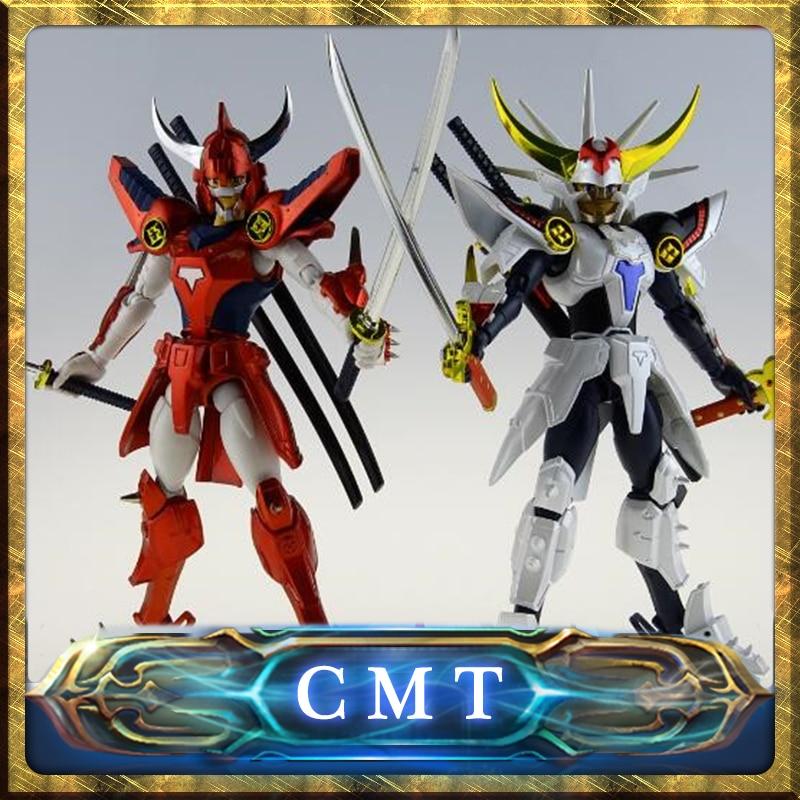 CMT In Stock DATONG assembly model Ronin Warriors Yoroiden Samurai Trooper Flame of God Ryo Anime PVC Action Toys Figure смартфон apple iphone 6s plus 128gb розовое золото mkug2ru a