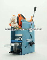 Low price Hand operated milk Cup Sealing Machine,milk packing Machine,plastic cup sealing machine