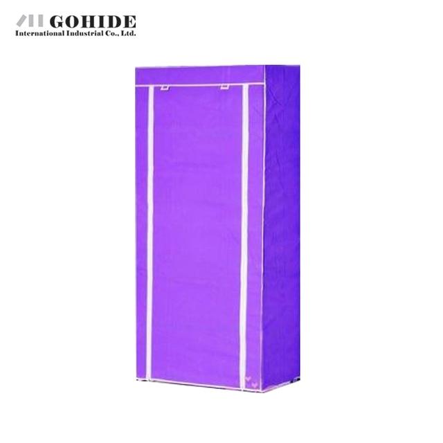 Gohide Simple Wardrobe Assembly Wardrobe Non-Woven Wardrobe Wardrobe Simple Portable Cloth Closet Sundries Storage