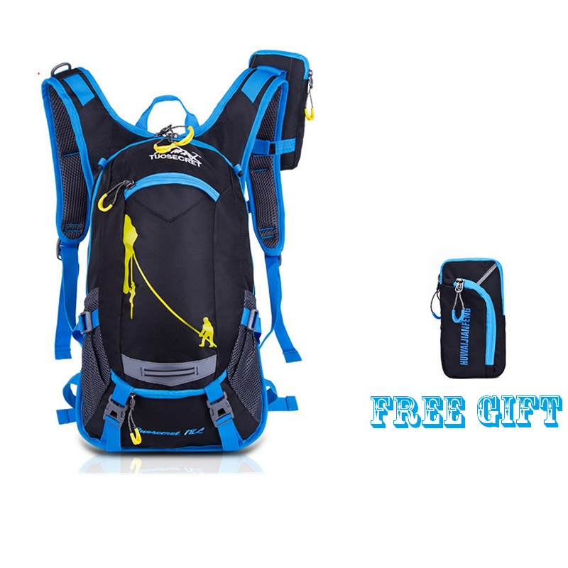 54f814ea4743 Detail Feedback Questions about Outdoor Cycling Riding Backpack and 2L Bladder  Water Bag 210D Nylon Waterproof Hydration Camelback Bag Running Camping ...