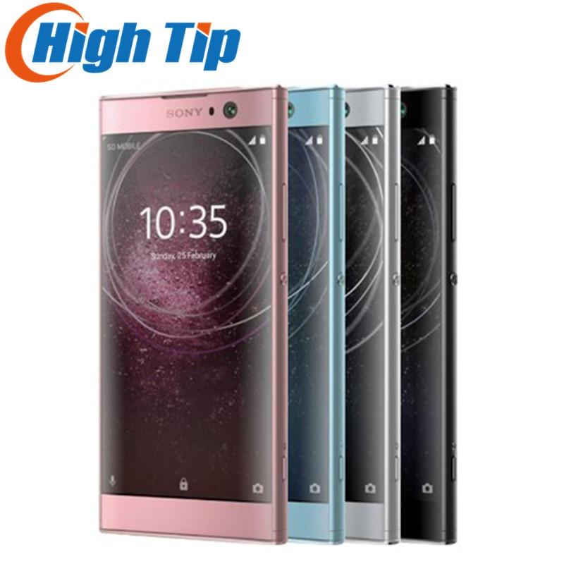 Original Sony Xperia XA2 H4133 23.0MP Octa Core 32G ROM 3G RAM NFC 3300 mAh double Sim Android 8 Charge rapide 3.0 téléphone portable