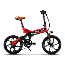 RichBit New ebike 48V 8Ah Hidden Battery Folding Electric Bike 21 Speed Integrated Rim Electric Bicycle Mtb bicicleta eletrica