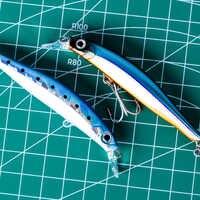 Señuelo de Pesca del Mar de minnow artista de Hunthouse cebo duro señuelo de hundimiento minnow 70mm 7g 80mm 8,5g silencio para el mar bajo