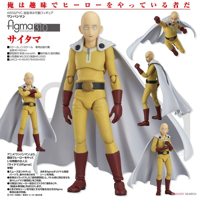 ONE PUNCH MAN Saitama Sensei joint Japanese Anime Action Figure PVC New Collection figures toys Collection for Christmas gift