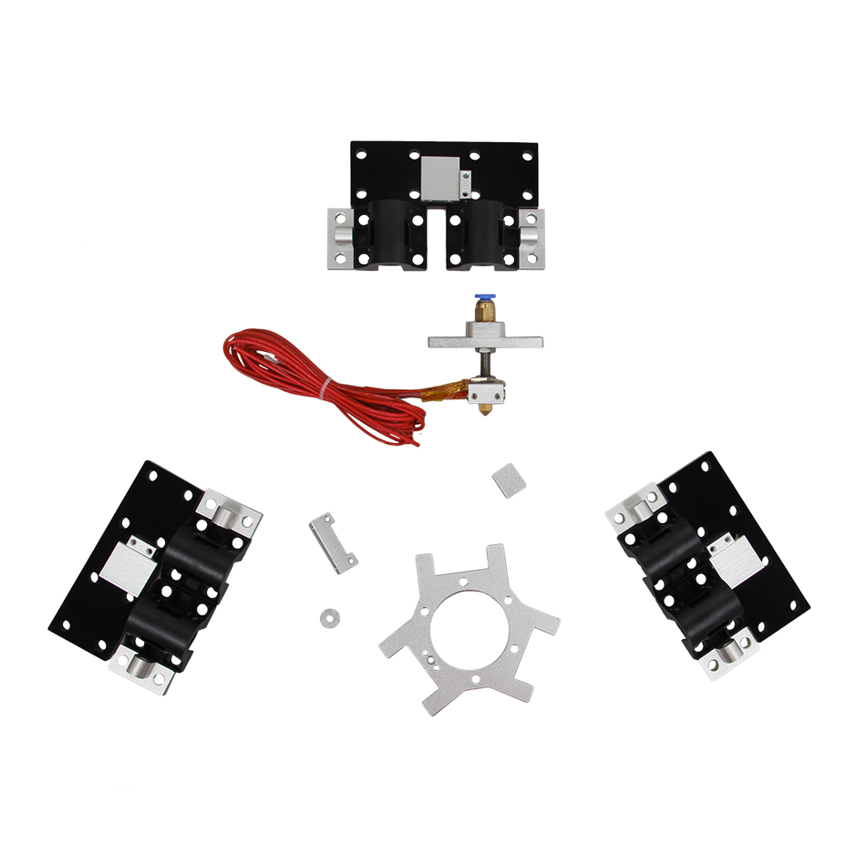 Upgrade Extruder Kits For Auto Level Dual Head 3D Printer Delta Rostock Mini G2
