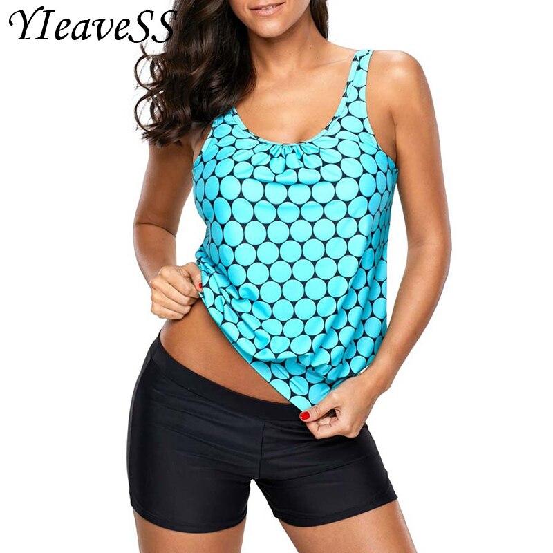 New Plus Size Tankini Set 5XL Swimwear Beach Tankini Women Push Up Swimsuit Swimwear Sports Large Sizes Swimsuits Bathing Suit