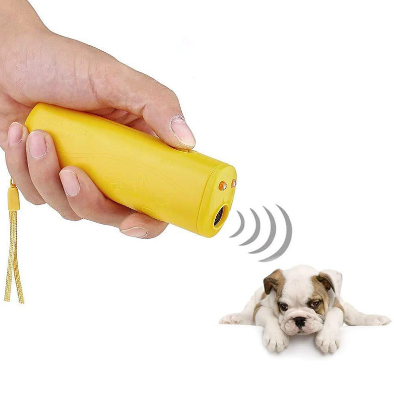 Control-Trainer-Device Deterrents Dog-Training-Repeller Dogs Anti-Barking-Stop Light