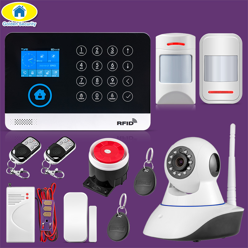 Security Alarm Back To Search Resultssecurity & Protection Sincere Wg11 Wifi Gsm Home Business Burglar Security Alarm System App Control Siren Rfid Pet Friendly Motion Detector Pir Smoke Sensor Top Watermelons