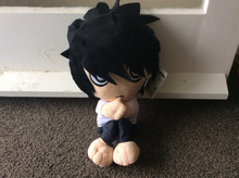 Japanese Moive Anime Death Note L Lawliet Plush Toy Soft Stuffed Doll 30cm cosplay doll free shipping handsome boy
