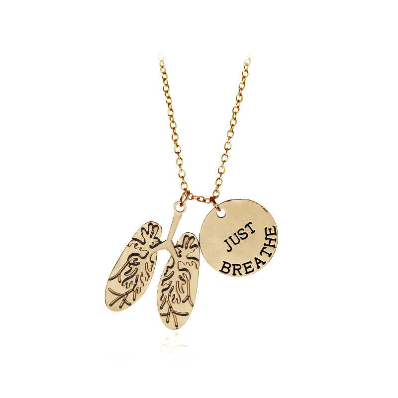 538e1f2d810e7 Detail Feedback Questions about JUST BREATHE Necklace Human Organs ...