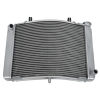 Moto Aluminum Engine Cooling Cooler Radiator For Honda NSR 250 1991 1998 1997 Motorcycle Accessories