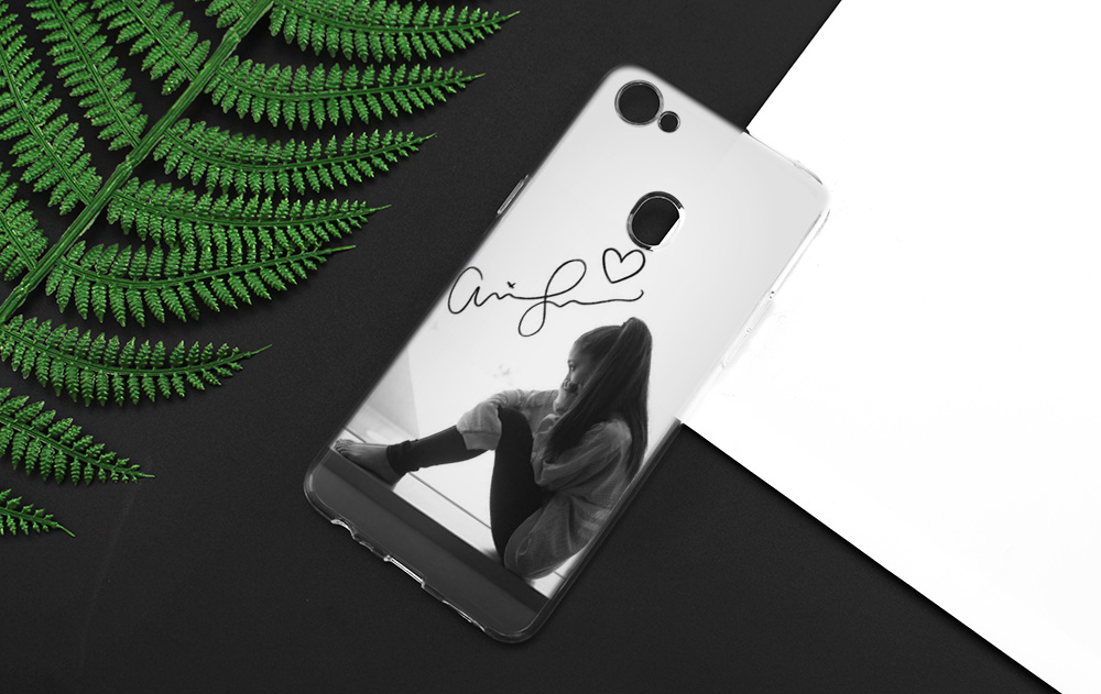 Cat Ar Ariana Grande Girl Silicone Clear Soft Transparent Case Cover Shell For Oppo F5 Youth F7 F9 Pro A7X F9pro A73
