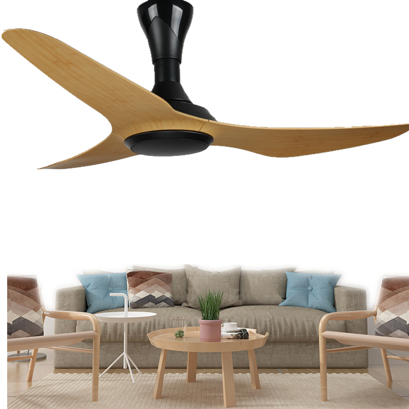 Quality Ceiling Fans High Quality Ceiling Fan Light Red: High Quality Creativity 3 Blades Ceiling Fan With Remote