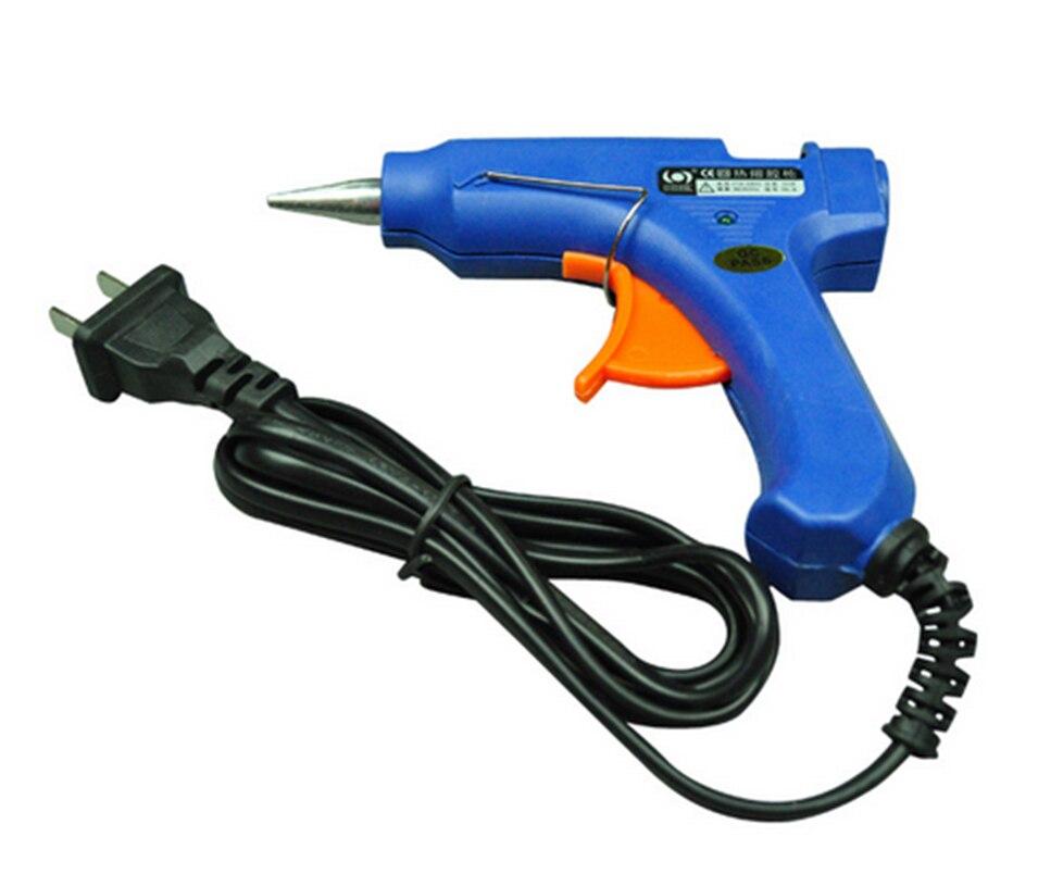 цена на 20W  Hot Melt Glue Gun Industrial Mini Guns Thermo Electric Gluegun Heat Temperature Tool
