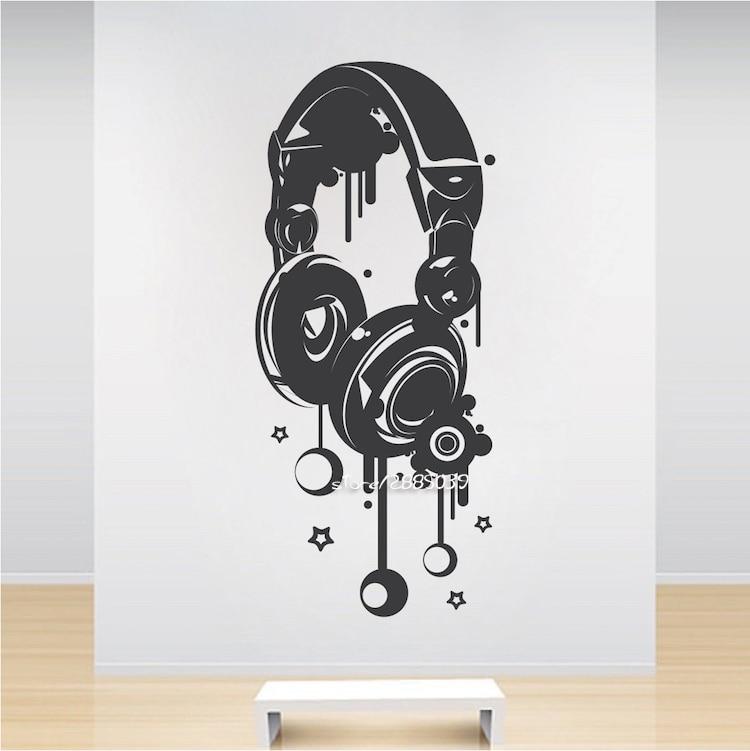 Online Get Cheap Music Poster Design Aliexpresscom Alibaba Group - Vinyl stickers design