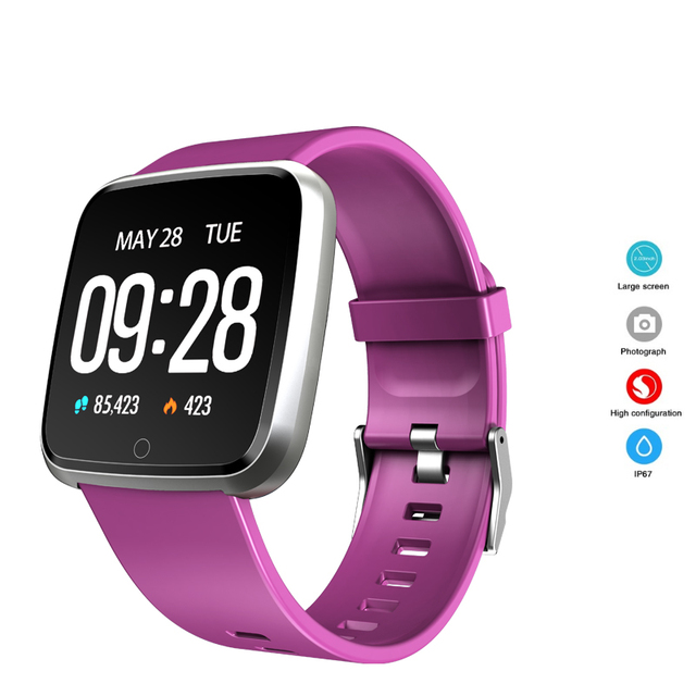 New Fashion Bluetooth Smart Watch Calorie Sport Bracelet Waterproof Watch Message Reminder Smartwatch For Android IOS Horloges