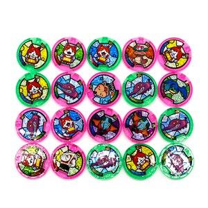 Image 1 - Japońskie Anime Yokai zegarek DX peryferyjne yo kai zegarek na rękę medale kolekcja godło zabawka