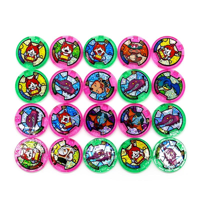 Японские Аниме часы Yokai, наручные часы DX Peripheral Yo-Kai, коллекция медалей, эмблема, игрушка