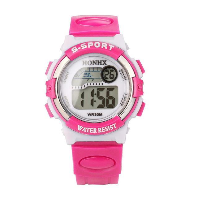 Aimecor 2018 New Sports Electronic Sport Casual Digital Wrist Watch For Child Gi