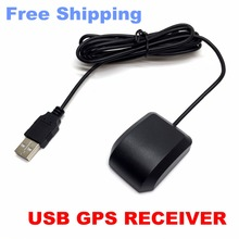 USB GPS Receiver Free Shipping Ublox 7020 gps chip GPS Antenna G-Mousereplace BU353S4 VK-162