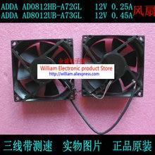 New Original ADDA ad8012ub-a73gl 12v 0.45a ad8012ub-a72gl 12v 0.25a Double Projector Cooling Fan