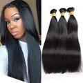 VIP Beauty Hair Brazilian Straight Virgin Hair 3Bundles Braid Bulk Hair Straight Mink Brazilian Human Braiding Hair Bulk No Weft