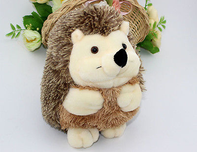 Toys for Children Kid gift Cute Lovely Soft Hedgehog Animal Doll Stuffed Plush Toy Child Kids Home Wedding Party  hot sale 2pcs 18cm super cute night owl plush toy doll baby toys owl stuffed animal doll best gift for kid free shipping