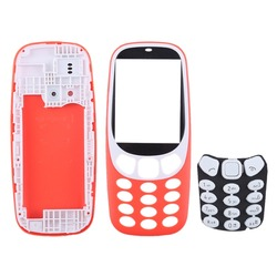 Full Assembly Housing Cover with Keyboard for Nokia 3310