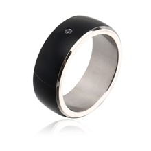 Universal Smart Ring Multifunction Magic Ring Wearable Device For Samsung Xiaomi HTC LG NFC Android WP Mobile Phone Black 3 Size