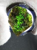 41g Rare Natural Turmalina Verde Muestra de Roca de Cristal de Cuarzo En Bruto Original Matural Minerales Energía Reiki Piedras