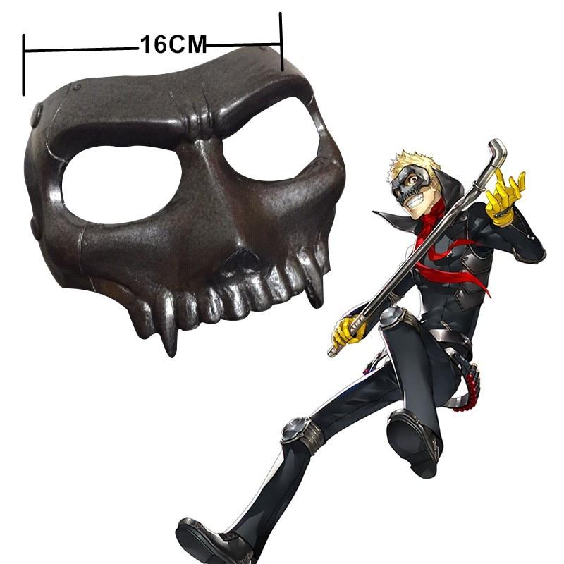 Persona 5 Mask Cosplay Joker Eye Mask Anne Takamaki Panther Mask Ryuji Sakamoto Skull Yusuke Kitagawa Fox Costume Accessory