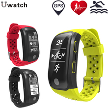 Smartband GPS S908 Heart Rate Monitor Pedomenter Men Sport IP68 Smart Watch Fitness Bracelet PK mi band 2 Wristband